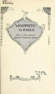 Cover of: Woodmyth & fables