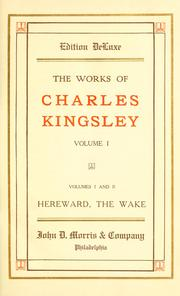 Cover of: The works of Charles Kingsley