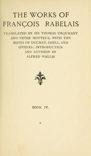 Cover of: The works of François Rabelais