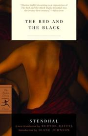 Cover of: The Red and the Black |