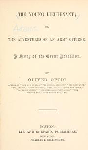 Cover of: The young lieutenant