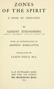 Cover of: Blå bok: a book of thoughts.