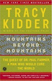 Cover of: Mountains Beyond Mountains | Tracy Kidder