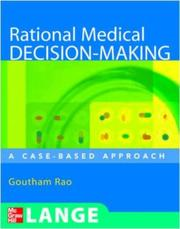 Cover of: Rational Medical Decision Making | Goutham Rao