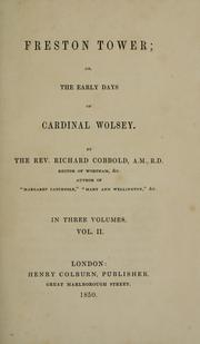 Cover of: Freston Tower, or, The early days of Cardinal Wolsey