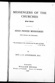 Cover of: Messengers of the churches