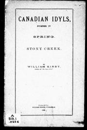 Cover of: Spring ; Stoney Creek