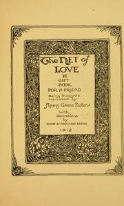 Cover of: The net of love | Foster, Agness Greene