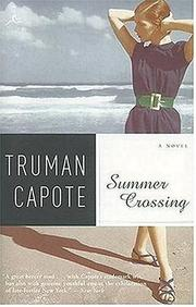 Cover of: Summer Crossing: A Novel