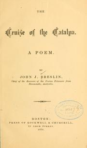 Cover of: The cruise of the Catalpa