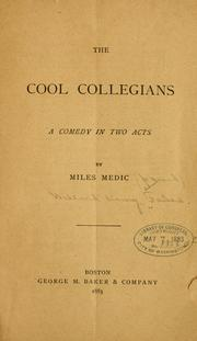 Cover of: The cool collegians