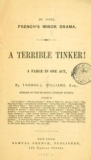Cover of: A terrible tinker!
