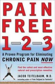 Cover of: Pain free 1-2-3