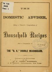 Cover of: The domestic adviser