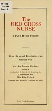 Cover of: The Red Cross nurse