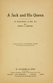Cover of: A Jack and his queen ..