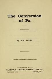 Cover of: The conversion of Pa ..