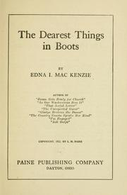 Cover of: The dearest things in boots