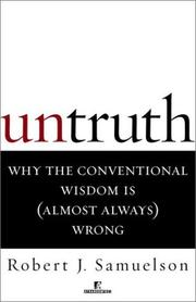 Cover of: Untruth