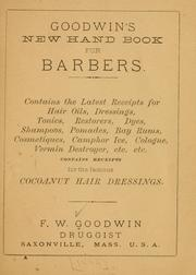 Cover of: Goodwin
