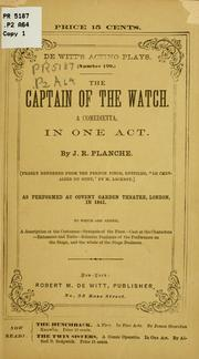 Cover of: The captain of the watch