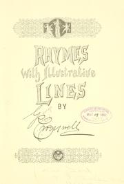 Cover of: Rhymes with illustrative lines