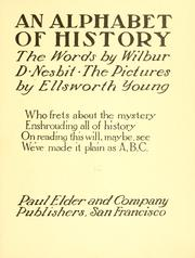 Cover of: An Alphabet Of History