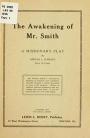 Cover of: The awakening of Mr Smith