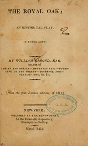 Cover of: Royal oak | William Dimond