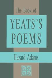 Cover of: The Book of Yeats Poems