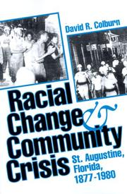 Cover of: Racial change and community crisis