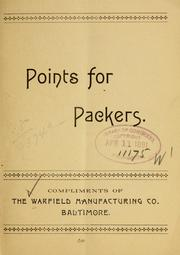 Cover of: Points for packers