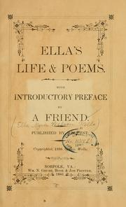 Cover of: Ella