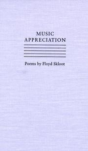 Cover of: Music appreciation