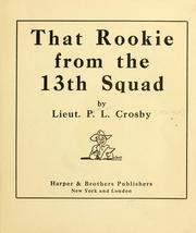 Cover of: That rookie from the 13th Squad