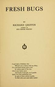 Cover of: Fresh bugs | Griffin, Richard