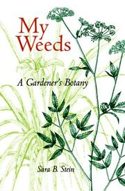 Cover of: My Weeds