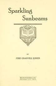 Cover of: Sparkling sunbeams