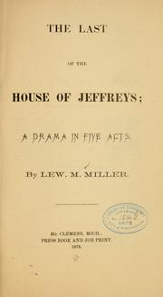 Cover of: The last of the house of Jeffreys