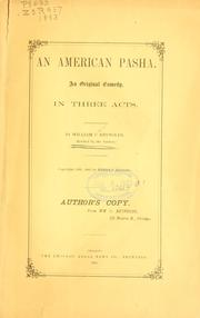 Cover of: An American Pasha ..