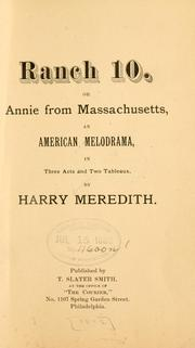 Cover of: Ranch 10, or, Annie from Massachusetts