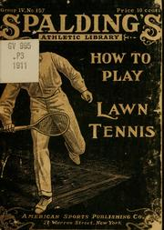 Cover of: How to play lawn tennis by Jahail Permly Paret