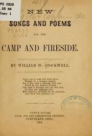 Cover of: New songs and poems for the camp and fireside
