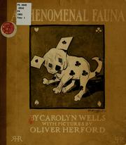 Cover of: A phenomenal fauna