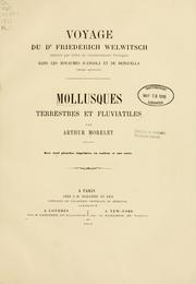 Cover of: Mollusques terrestres et fluviatiles