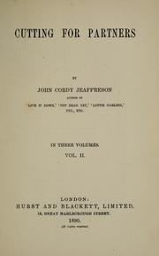 Cover of: Cutting for partners