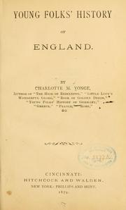 Cover of: Young Folks' History of England