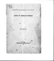 Cover of: Aspects of American astronomy