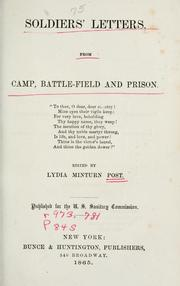 Cover of: Soldiers