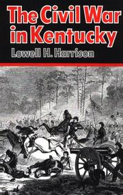 Cover of: The Civil War in Kentucky